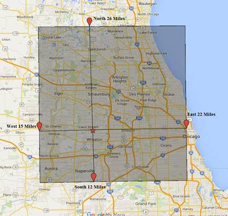 If Your Company Covers The Service Location You Will Be List By Closet  Company Geographically To The Service Location.