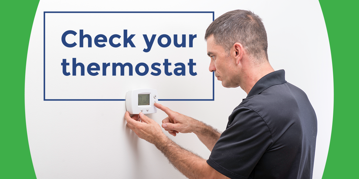 Check your thermastat
